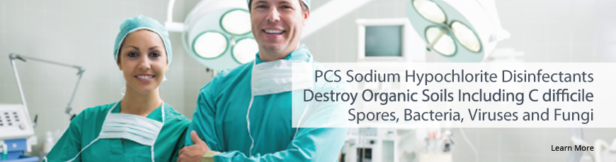 PCS Sodium Hypochlorite Disinfectants