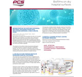 Biofilms on Hospital Surfaces