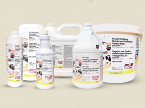 PCS 250 Oxidizing Disinfectant /Disinfectant Cleaner